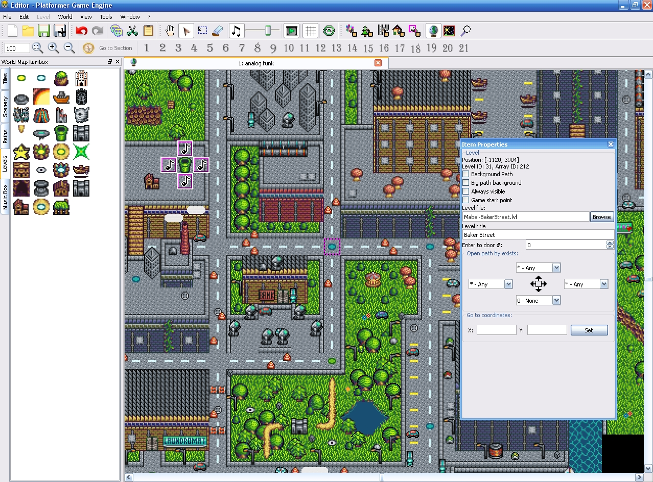 Platform game engine pge project wohlsoft team pge editor in action gumiabroncs Images