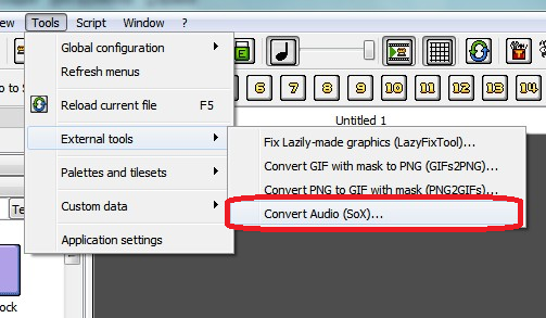 PGE Editor sox audio converter.png