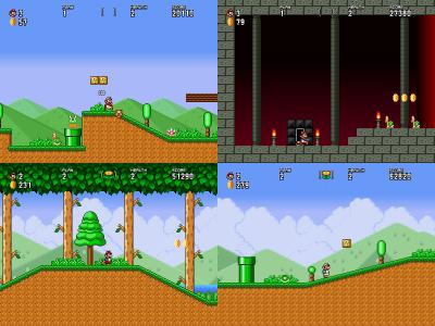 SMBX 2 Beta 3 / LunaLua Minisode] Mario in Wonderland 1 5