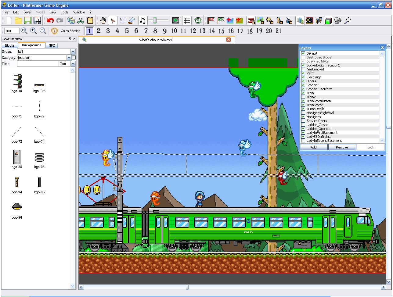 Platform Game Engine Pge Project Wohlsoft Team