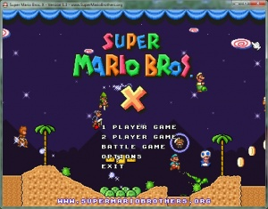 Super Mario Bros  X - PGE Wiki